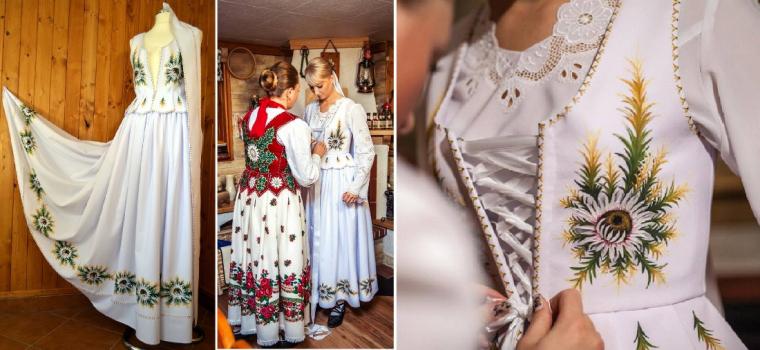 Skvelý nápad: Ručne maľované svadobné šaty